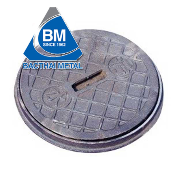 Cast  iron manhole cover BMC