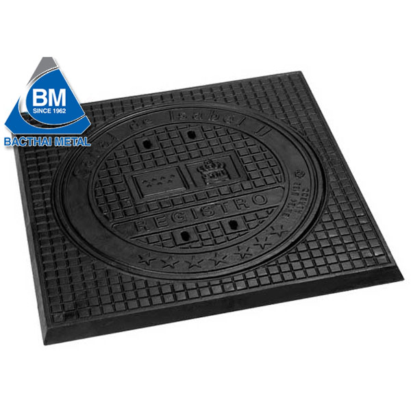 Cast iron manhole cover (ductile cast iron)
